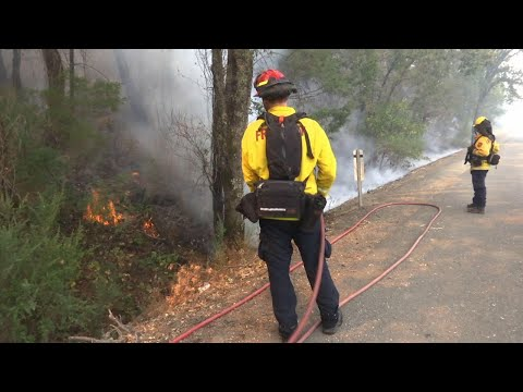 California evacuees assess damage from wildfires