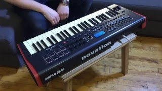 miles dean ~ live on the novation impulse 49