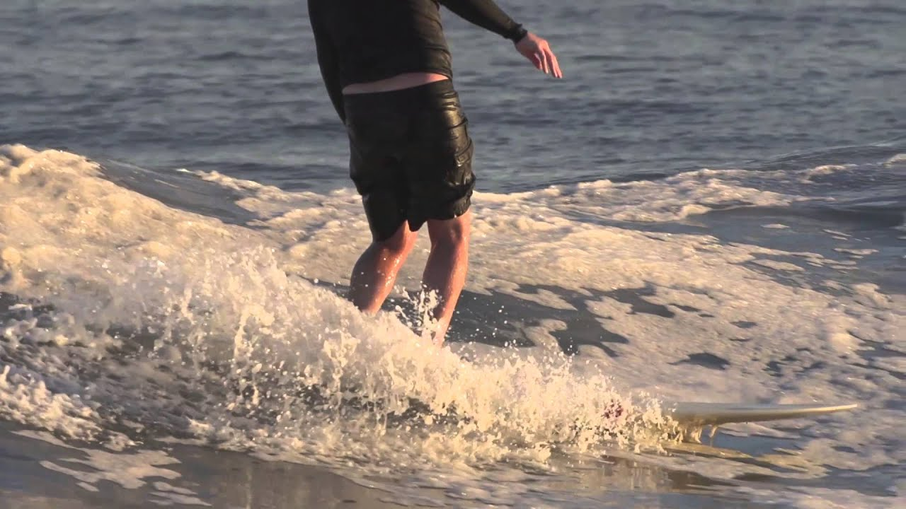 Long Beach slow motion surfing 2