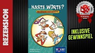 Haste Worte - Rezension inkl. Spielszenen & Gewinnspiel