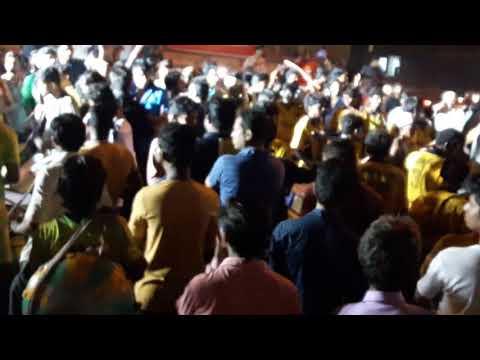 7 Star WARDHA Dilip Bhai Rocking At Sant Jagnade Seq Nagpur For Devi Visarjan Fight With Babulgaon