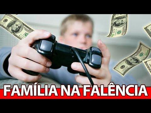 Jovem leva a FAMÍLIA a FALÊNCIA por causa de VIDEO GAME