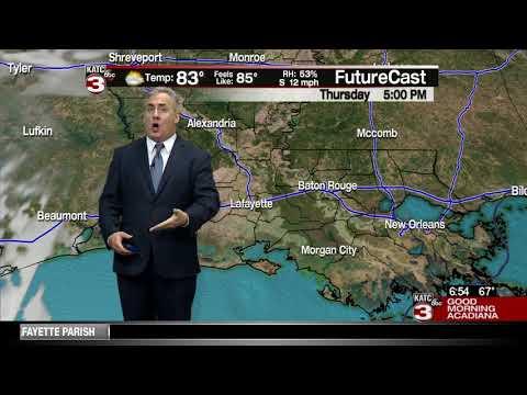 Dave's Thursday weathercast