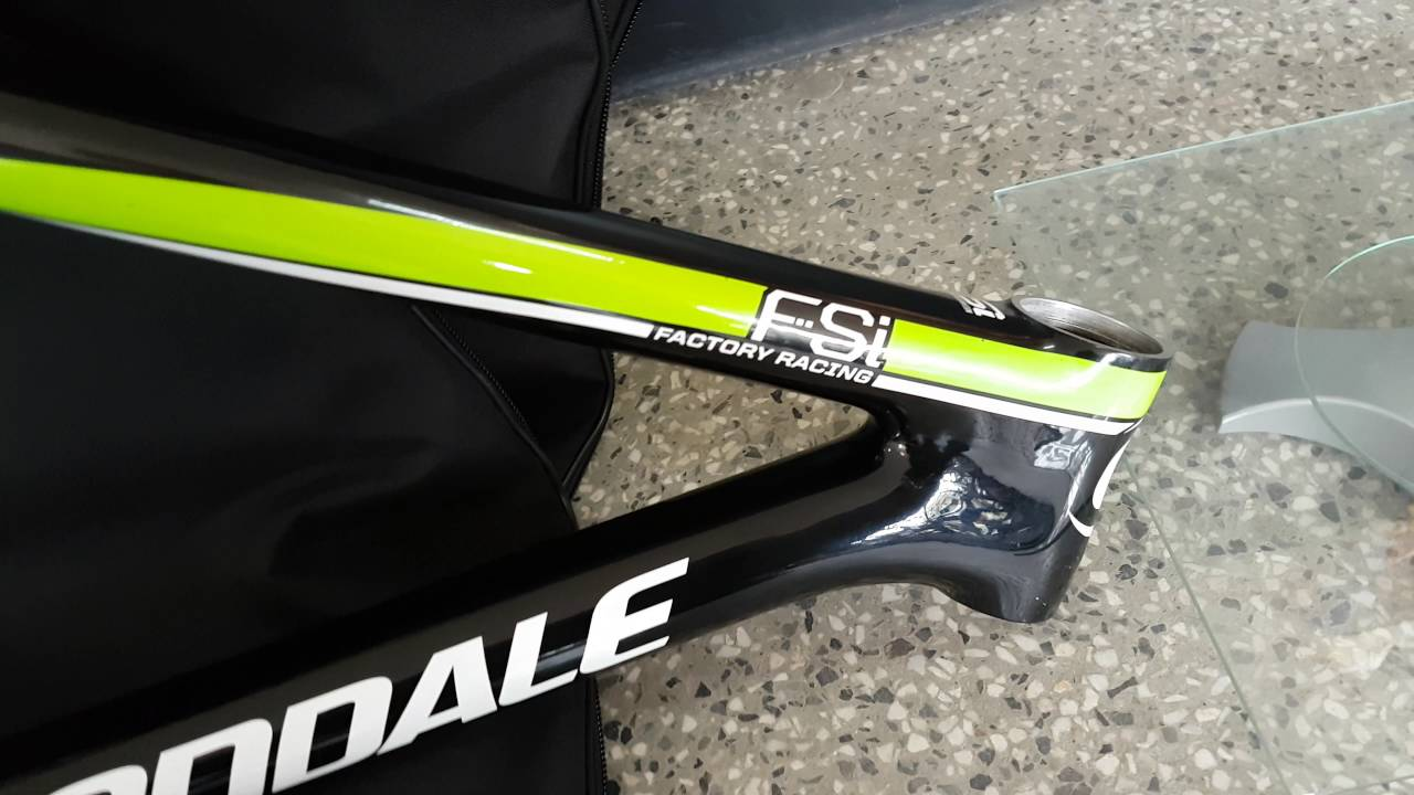 b7919b8a4d0 Cannondale F-Si carbon factory Racing 29 weight - YouTube