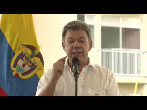 Palabras del Presidente Juan Manuel Santos durante la entrega de viviendas en Quibdó - 13/09/2016