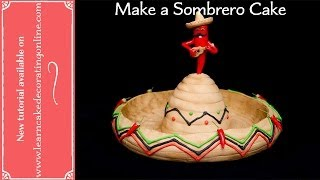 How to make a Sombrero cake