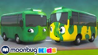 Зомби Бастер едет на мойку Мультики для детей Автобус Бастер Мультики на Русском