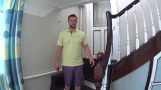 видео Проем для лестницы на второй этаж: расчет размеров