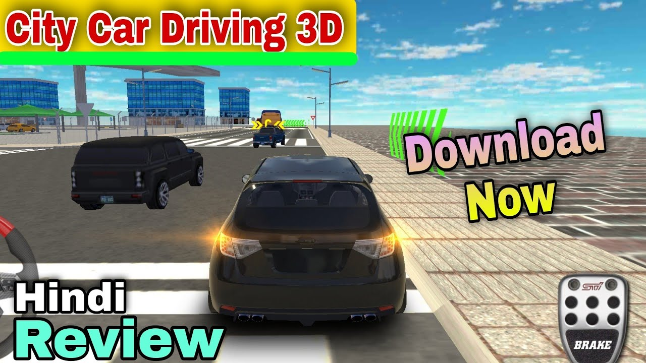 City Car Driving 3D New Today Review Gameplay Download Now Link in Discription   Android/iOS Update