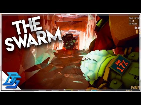 FLAME THROWER , THE HUGE SWARM   Deep Rock Galactic - Part 2  (Closed Alpha)
