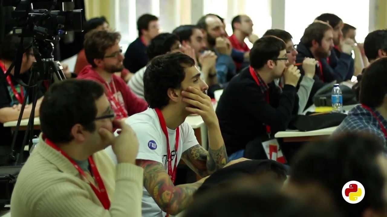 Image from PyConES 2013. Así fue...