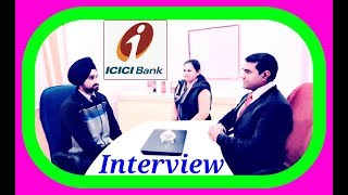 ICICI #Bank #Interview Questions and Answers