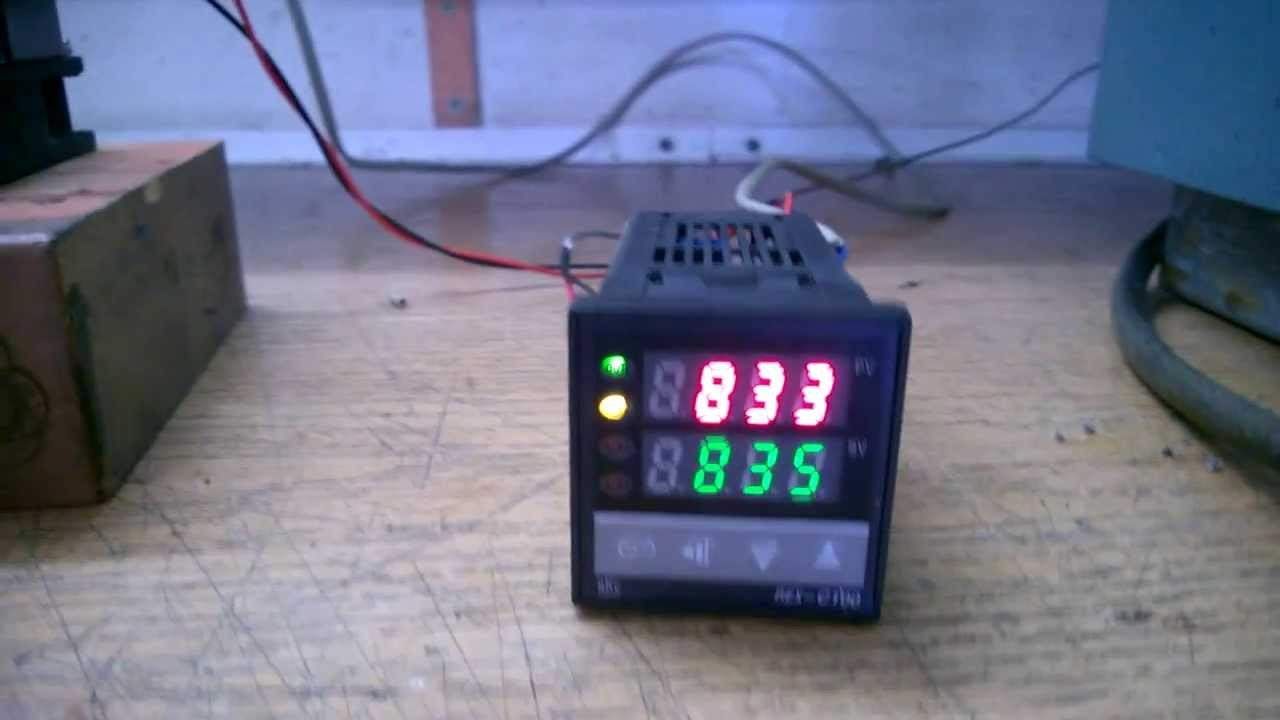 Rkc Rex C100 Pid Temperature Controller Unleashed Youtube Wiring To The