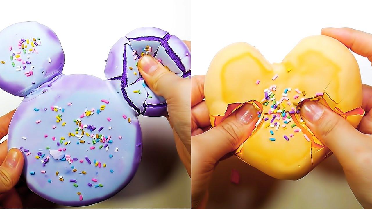 바삭바삭 석고 점토 부수기 영상 모음 Plaster Clay Cracking 2