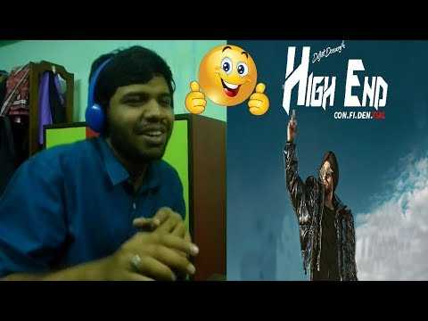 High End Official Video|CON.FI.DEN.TIAL|Diljit Dosanjh|Reaction & Thoughts