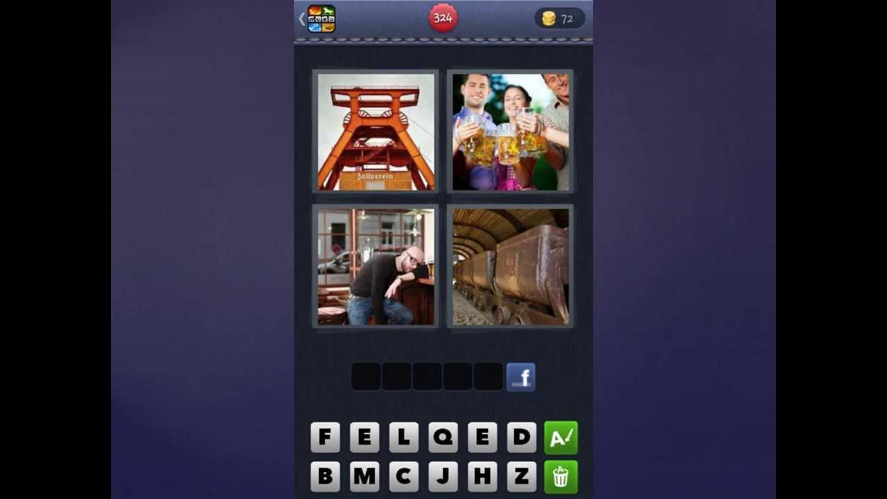 4 Bilder 1 Wort Lösung [Kran, Menschen, Mann, Wagons]