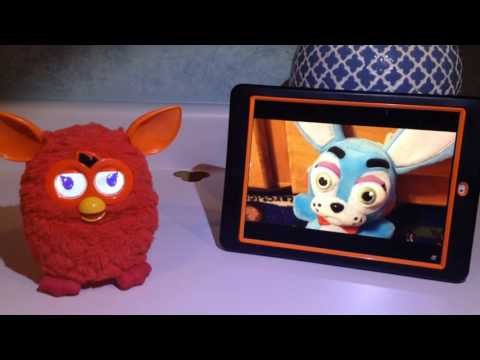 Red Furby Reaction to No It's Not Yarn...