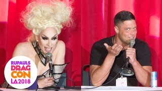 Bro'laska Panel with Alaska & Cory Binney at RuPaul's DragCon 2018: LA