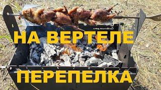ПЕРЕПЕЛКА НА ВЕРТЕЛЕ МАНГАЛА Grillmax.pro ОХОТА НА КУБАНИ РЕЦЕПТЫ СЮФ