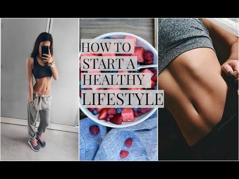 HOW TO START A HEALTHY LIFESTYLE! Ft. Women's Best - YouTube
