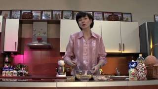 Любимые рецепты.Салат из крольчатины с яблоками