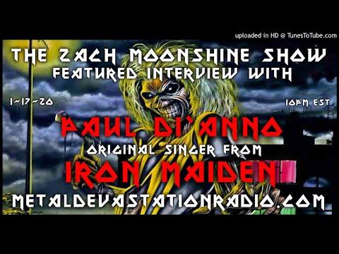 Paul Di'Anno - Interview 2020 - The Zach Moonshine Show