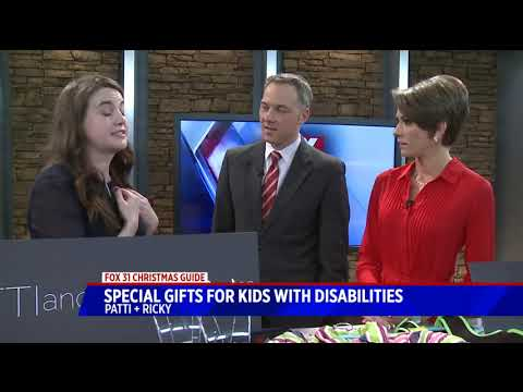 Special gifts for kids with disabilities