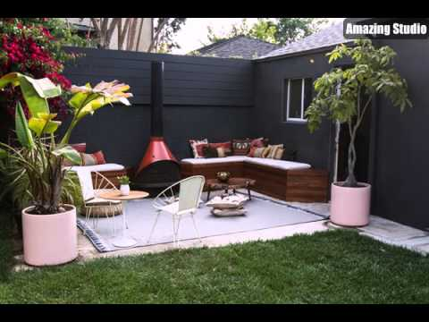 DIY Patio Furniture In Backyard