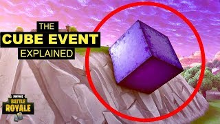 *NEW* CUBE CLIMBS UP A MOUNTAIN! - FORTNITE BATTLE ROYALE