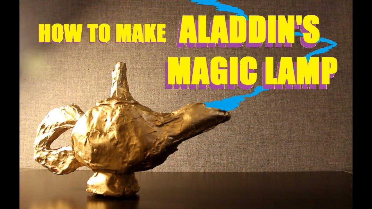 How To Build Aladdinu0027s Lamp