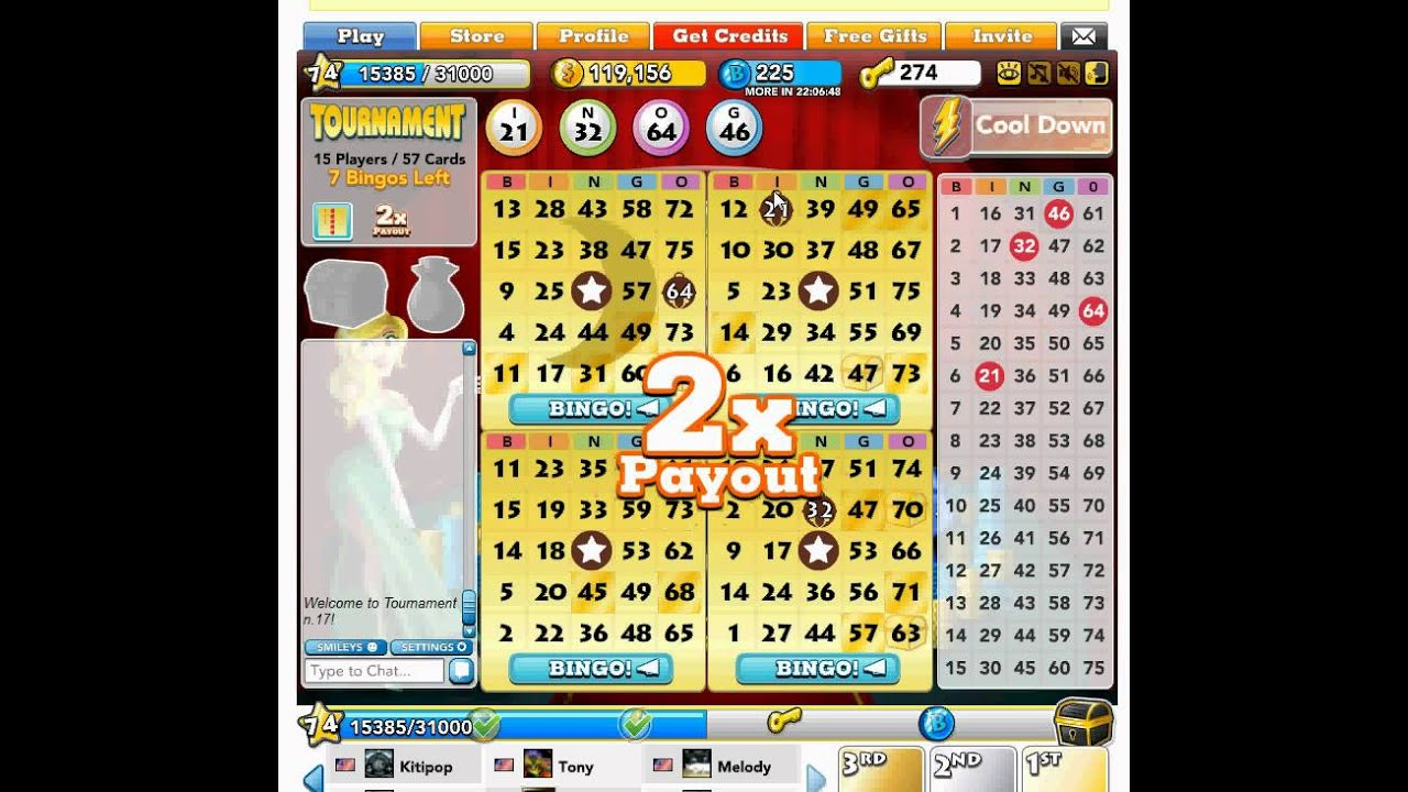 how to win bingo blitz tournament