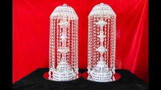 DIY Dollar Tree Crystal Lamp