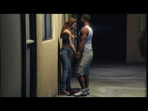 GTA 5 - Girlfriend Mission! (Franklin and Liz)