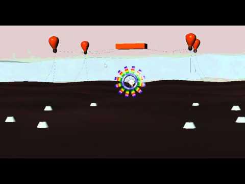 undersea kite generator tethering single unit