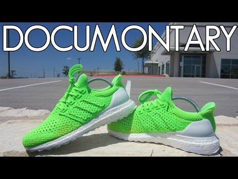 miadidas Ultra BOOST Clima Solar Green . On Feet & Review