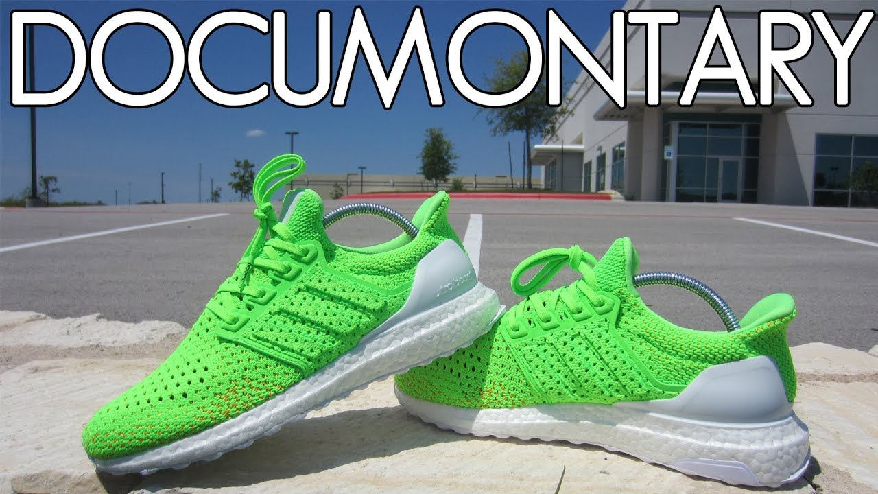 miadidas Ultra BOOST Clima Solar Green . On Feet & Review | DOCUMONTARY