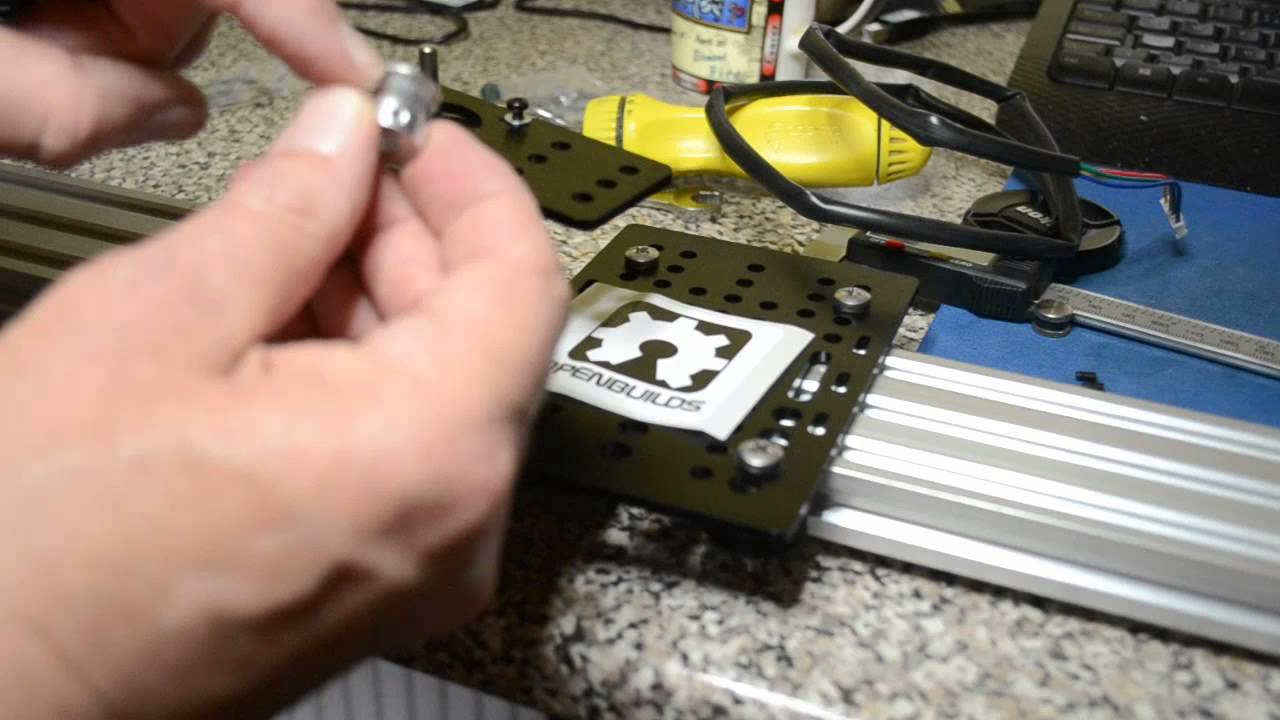 Linear Actuator CNC Rail + Stepper Motor Home build Solar Tracker V Slot