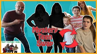 24 Hour Mystery Teen Swap In Real Life / That YouTub3 Family