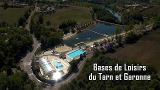 Bases de Loisirs du Tarn et Garonne - Vues du ciel Drone Expert