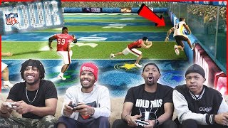 Hit Sticks, Interceptions & Wall Runs! CRAZY Game You Don