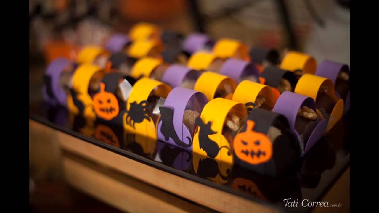 Halloween birthday Party at home ideas - YouTube