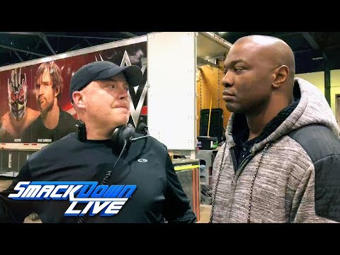 Meet the cameraman who fell in the snow on SmackDown LIVE: SmackDown Exclusive, March 6, 2018