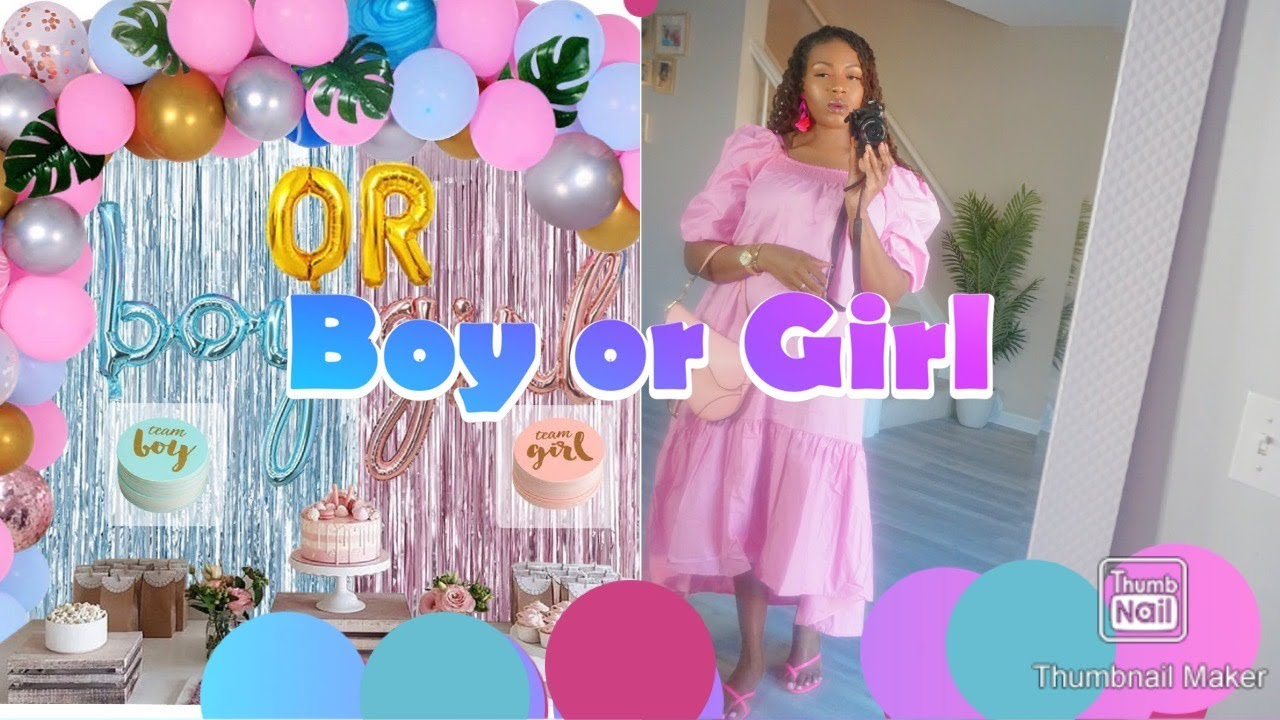 MY GENDER REVEAL. SIMPLE AND VIRTUAL