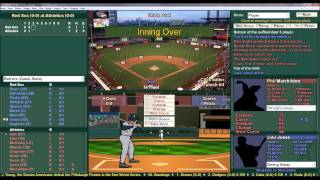 Baseball Mogul Diamond Gameplay