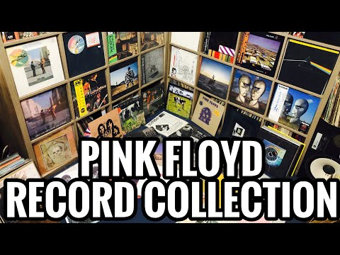 My Pink Floyd Record Collection! Japanese Pressings, Bootlegs, Colored Vinyl and RARE Gems!