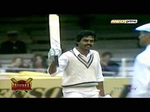 Dilip Vengsarkar: 3rd 100 At Lords (1986)