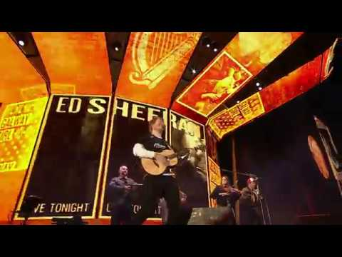 Ed Sheeran  Galway Girl feat Beoga 2018 Billboard Music Awards,  from Dublin