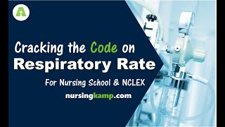 When are Respiratory Rates Critical Respiratory Assessment Priority Nursing KAMP NCLEX Reveiw 2019