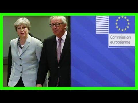 Britain and eu break deadlock over british exit