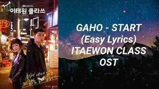 Download Gaho - Start (Easy Lyrics) Itaewon Class OST Part 2
